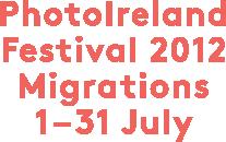 PhotoIreland Festival 2012